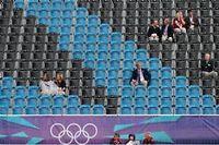 Des sièges vides lors de compétitions officielles des JO de Londres. ©CARL COURT