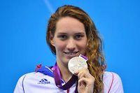 Camille Muffat décroche sa seconde médaille des JO de Londres en se classant seconde du 200 mètres nage libre. ©Fabrice Coffrini