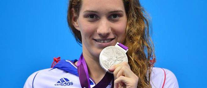 Camille Muffat décroche sa seconde médaille des JO de Londres en se classant seconde du 200 mètres nage libre.