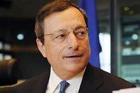 Mario Draghi, patron de la BCE. ©Thierry Charlier
