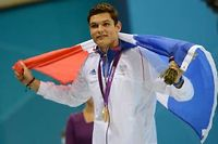 Florent Manaudou. ©Christophe Simon