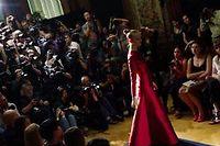 Collection automne-hiver 2012-2013 de Valentino, présentée lors de la Fashion Week parisienne, en juin dernier. ©Martin Bureau