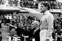 Les Jeux Olympiques de 1936 à Berlin. ©AP