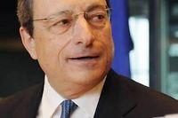 Mario Draghi n'a pas dégainé le bazooka tant attendu par les marchés. ©Thierry Charlier