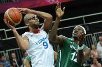 La France a battu le Nigeria (79-73) lors du dernier match de groupe. ©Timothy A. CLARY