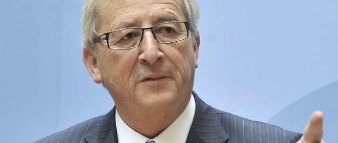 Le president de l'Eurogroup, Jean-Paul Juncker.