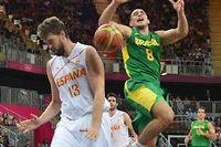 Les Espagnols ont perdu face au Brésil alors qu'ils menaient de dix points à quelques minutes de la fin du match. ©Mark Ralston