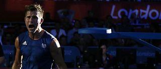 Alexis Vastine crie sa colère après sa défaite en quart de finale des moins 69 kg dans un combat qu'il avait pourtant dominé. ©Jack Guez