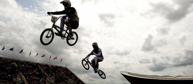 L'impressionnante épreuve de BMX s'est tenue jeudi à Londres. ©Odd Andersen