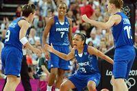 Les Françaises joueront face aux Etats-Unis en finale du tournoi olympique de basket. ©Mark Ralston