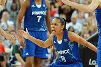 L'équipe de France féminine de basket. ©Mark Ralston