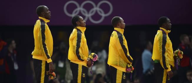 Le relais jamaïcain a écrasé le record du monde du 4 x 100 mètres.