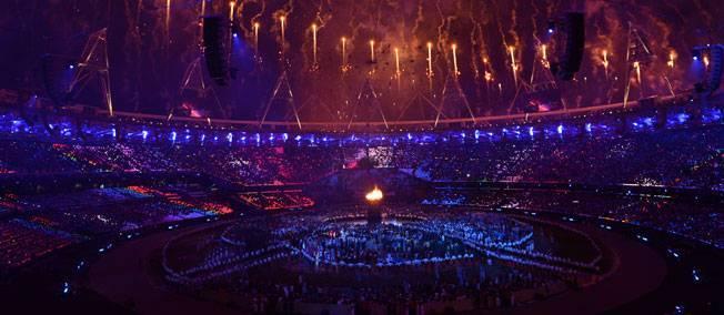 Les Anglais se sont pris de passion pour ces Jeux.