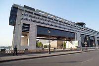 Le ministère de l'Économie et des Finances à Bercy, Paris. ©-