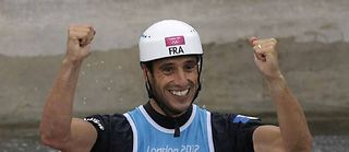 Le triple champion olympique Tony Estanguet. ©Victor R. Caivano