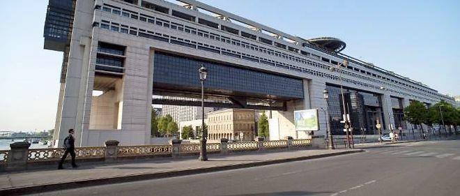 Le ministère de l'Économie et des Finances à Bercy, Paris.