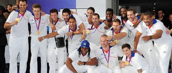 L'équipe de France de handball.