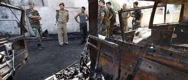 L'armée de Bachar el-Assad est accusée de crimes contre l'humanité.