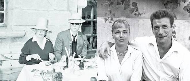 Simone Signoret a quitté son mari Yves Allégret pour vivre avec Yves Montand.