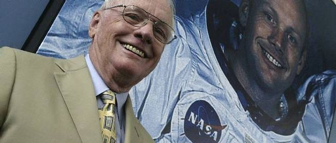 Neil Armstrong, ici en 2005.