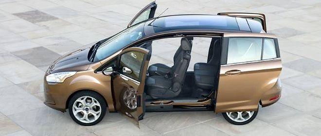 Ford B Max La Quadrature De La Portiere Automobile