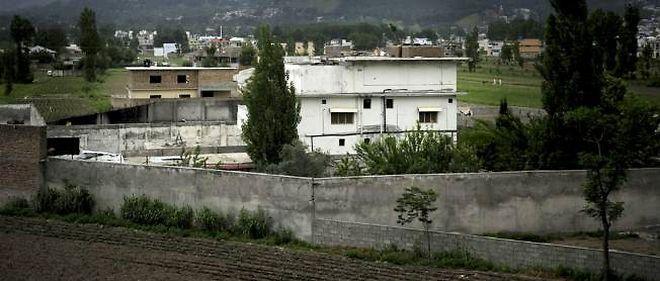La villa d'Abbottabad, au Pakistan, où Oussama Ben Laden a été tué.