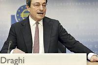 Mario Draghi ne veut pas inciter les Etats en difficulté à relâcher leurs efforts même s'il finance en partie leur dette. ©Emily Wabitsch