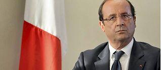 François Hollande le 6 septembre. ©Ben Stansall