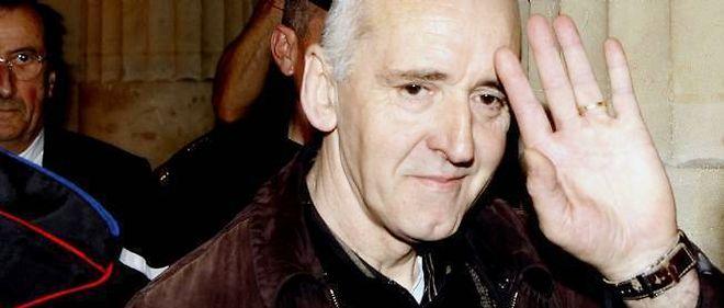 Dany Leprince à son retour en prison le 6 avril 2011.