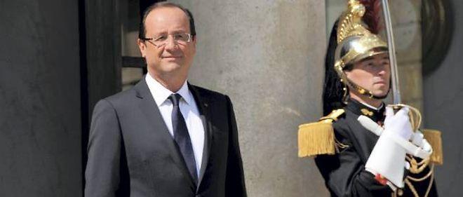 François Hollande le 29 mai.