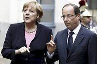 Pour tenir ses engagements, François Hollande devra compter sur une stabilisation de la zone euro. ©JACKY NAEGELEN