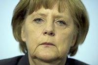 La chancelière Angela Merkel n'a rien d'un Bismarck en jupon. Sa position à Berlin est des plus fragiles. ©Johannes Eisele