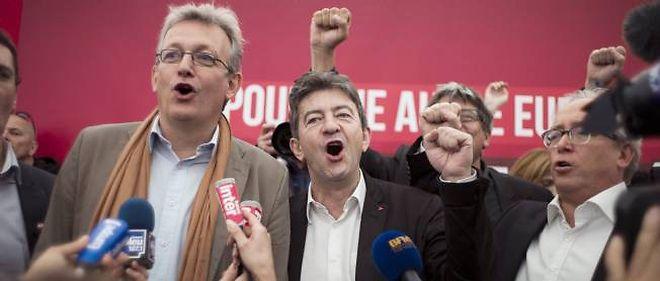 Le patron du PCF, Pierre Laurent, et le candidat à la présidentielle du Front de gauche, Jean-Luc Mélenchon, ont affirmé qu'il n'existait aucune tension entre eux, samedi, à la Fête de l'Huma.