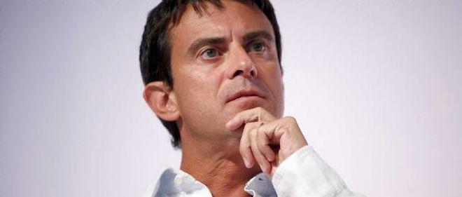 Manuel Valls est ulcéré par la manifestation à Paris.