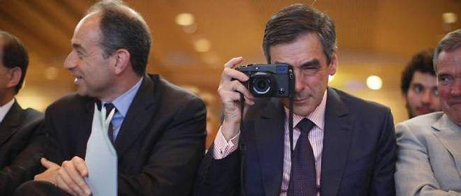 Jean-François Copé et François Fillon sont en concurrence pour la présidence de l'UMP.
