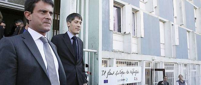 Manuel Valls visite le 14 septembre le centre d'accueil pour demandeurs d'asile à Vaux-en-Velin.