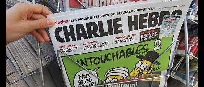 """La presse fait front jeudi au nom de la liberté d'expression derrière """"Charlie Hebdo""""."""