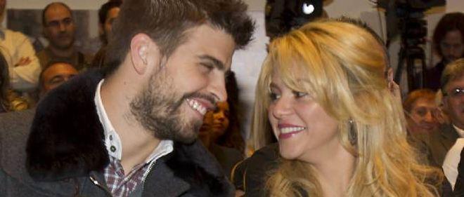 Shakira et son compagnon, Gerard Piqué.