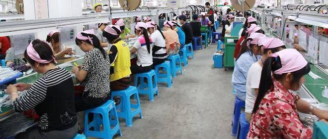 Le site de Taiyuan du groupe Foxconn emploie 79 000 personnes.