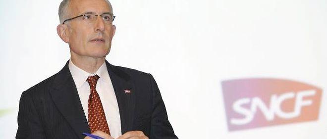 Guillaume Pepy s'est félicité que la SNCF soit la deuxième entreprise française en termes d'embauche, malgré la crise.