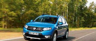 Dacia révèle au Mondial de l'auto la déclinaison Stepway