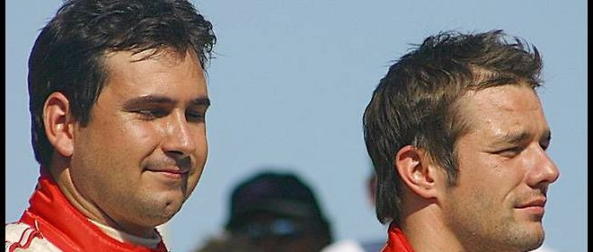 Sebastien Loeb (à droite) se séparera nécessairement de Daniel Elena, son coéquipier en rallye. Il souhaite désormais orienter sa carrière en circuit.