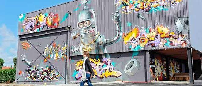 Le groupe GB a fait relooker son bâtiment par 53 artistes