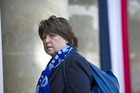 Martine Aubry. ©Fred Dufour