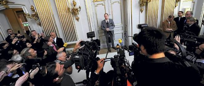 Annonce du prix Nobel de littérature, le 11 octobre 2012.