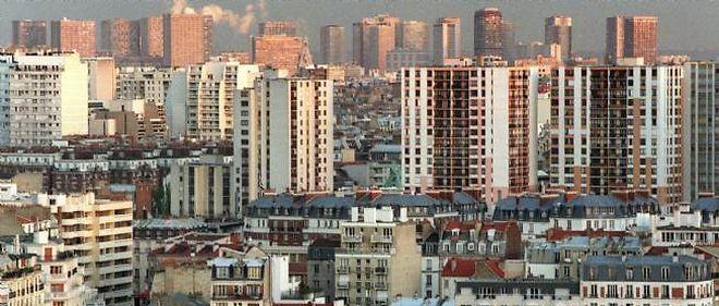 Vue du 13e arrondissement de Paris.