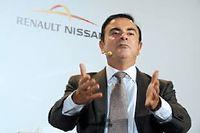 Toujours offensif, Carlos Ghosn poursuit une intégration toujours plus profonde entre Nissan et Renault ©ERIC PIERMONT
