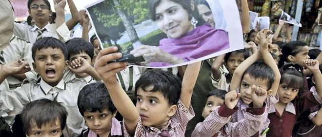 La tentative d'assassinat sur la jeune fille de 14 ans a déclenché un mouvement de protestation anti-talibans au Pakistan.
