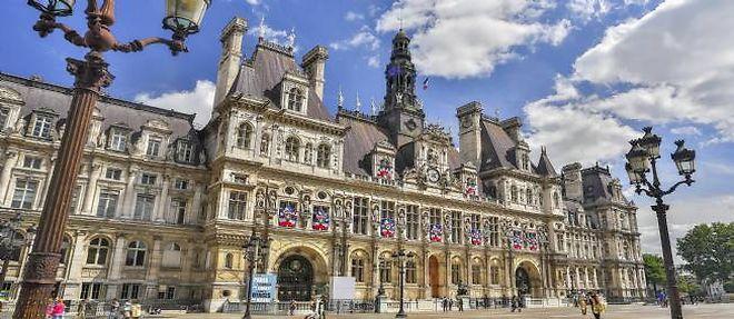 L'hôtel de ville de Paris. ©Calle Montes / Photononstop / AFP