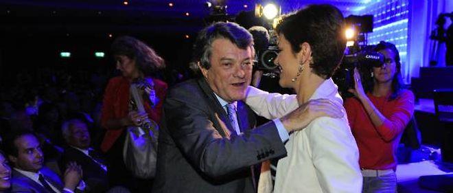 Jean-Louis Borloo et Chantal Jouanno dimanche à la Maison de la Mutualité.